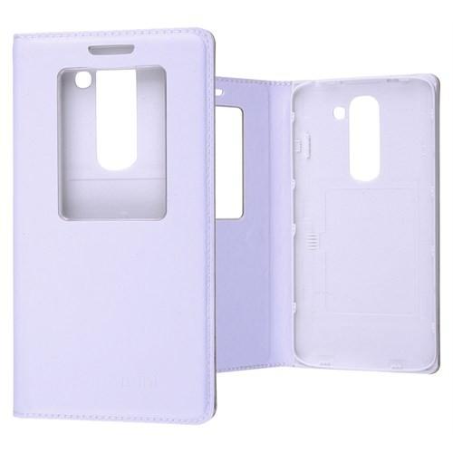 Ally Lg G2 Mini D620 Mıknatıslı - Stand Ve Pencereli Flip Cover Kılıf