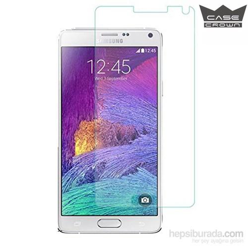CaseCrown Samsung Galaxy Note 4 Cam Ekran Koruyucu