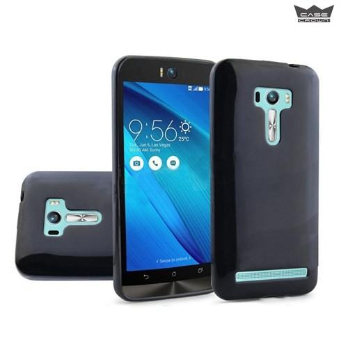 CaseCrown Asus Zenfone Selfie Silikon Kılıf Siyah