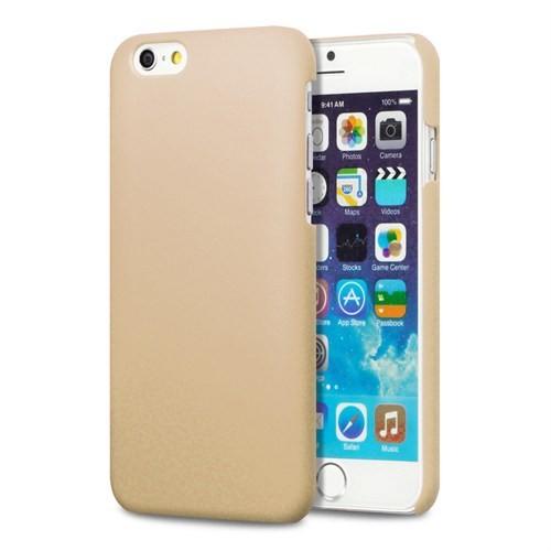 Microsonic Premium Slim İphone 6S Plus (5.5'') Kılıf Altın Sarısı