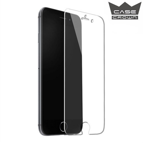 CaseCrown Apple iPhone 6/6s Ultra İnce Çizilmez Cam Ekran Koruyucu