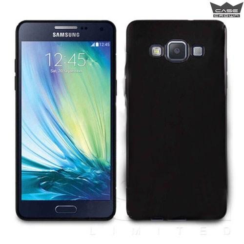 CaseCrown Samsung Galaxy A8 Ultra İnce Silikon Kılıf Siyah