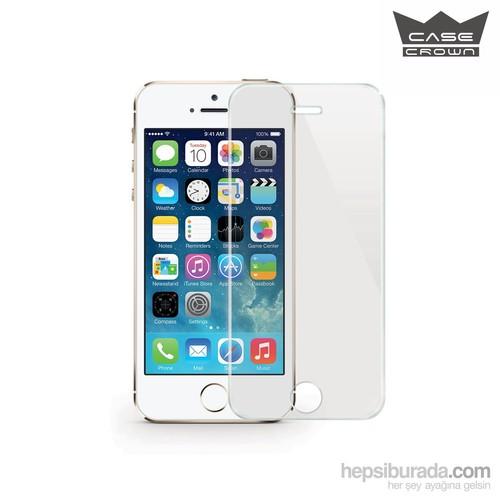 CaseCrown Apple iPhone 5 /5s , Çizilmez Cam Ekran Koruyucu