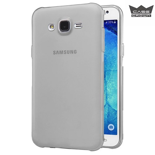 CaseCrown Samsung Galaxy J2 Ultra İnce Silikon Kılıf Füme