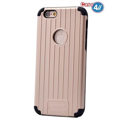 Case 4U Apple İphone 6 Verse Korumalı Kapak Altın