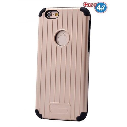 Case 4U Apple İphone 6S Verse Korumalı Kapak Altın