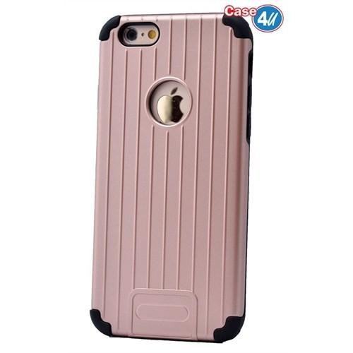 Case 4U Apple İphone 6S Plus Verse Korumalı Kapak Rose Gold