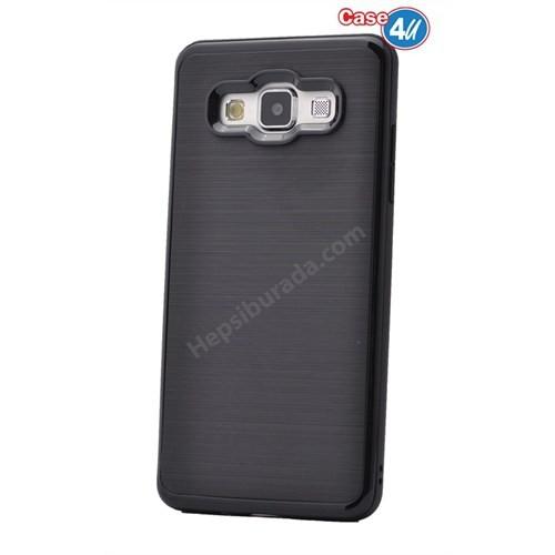 Case 4U Samsung Galaxy J1 Infinity Koruyucu Kapak Siyah