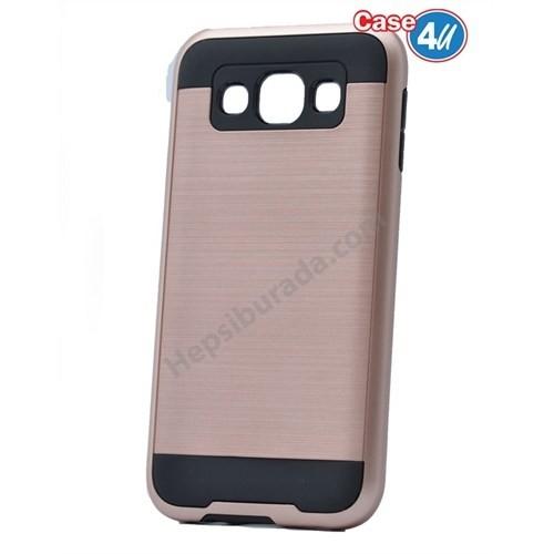 Case 4U Samsung Galaxy J7 Korumalı Kapak Rose Gold