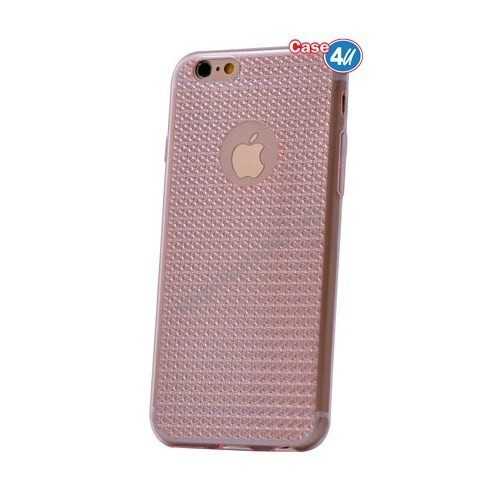 Case 4U Apple İphone 6S Elgance Silikon Kılıf Pembe