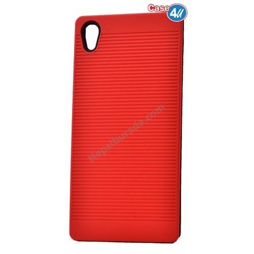 Case 4U Sony Xperia Z5 You Koruyucu Kapak Kırmızı
