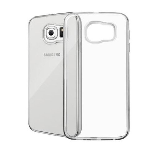 Ebox Samsung Galaxy S6 Şeffaf İnce Silikon Arka Kapak - EBX-2335