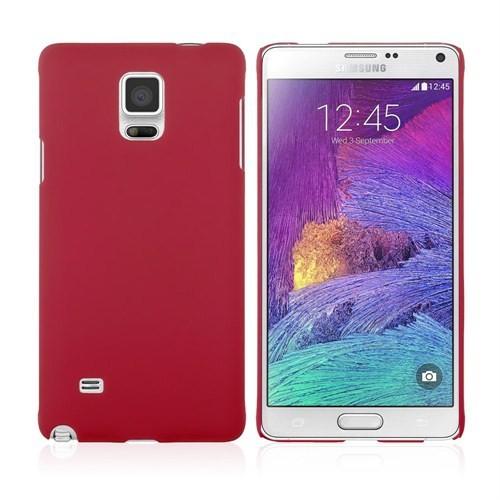 Microsonic Premium Slim Samsung Galaxy Note 4 Kılıf Kırmızı