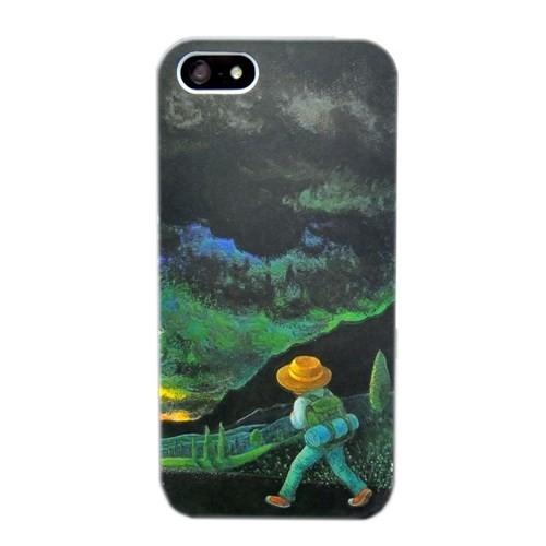 Duck Apple iPhone 5 Yollarda-Palette - Yeşil Siyah Kapak