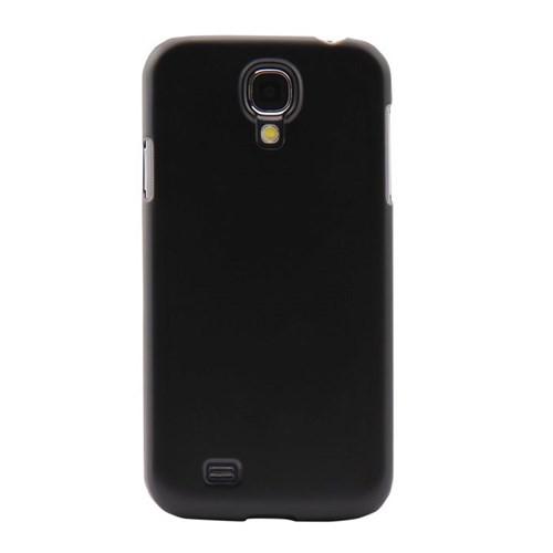 Vacca Samsung Galaxy S4 Sert Plastik S-Line Siyah Kapak