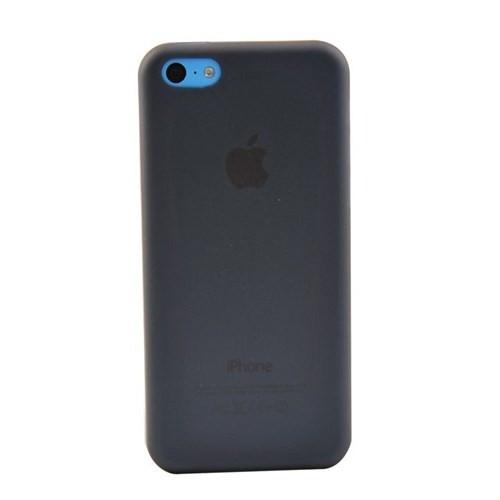 Duck Apple iPhone 5C Slikon Skiny Kapak Daily Siyah