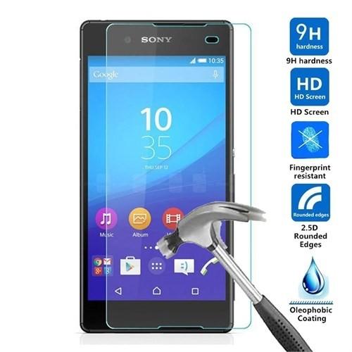 Case 4U Sony Xperia E4 Cam Ekran Koruyucu