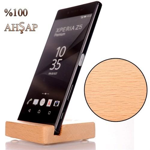 Samsung Galaxy A5 Ahşap Stand Basic Dizayn