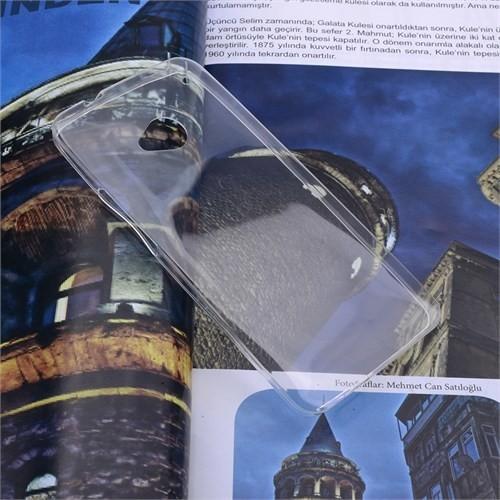 Ally Htc One M7 Spada Kristal Soft Silikon Kılıf