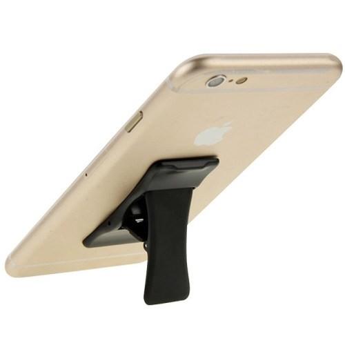 Coverzone Mini Telefon Standı Mandal Dizayn Siyah