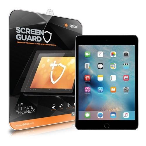 Dafoni Apple İpad Mini 4 Tempered Glass Premium Tablet Cam Ekran Koruyucu