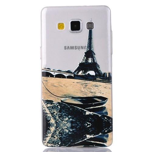CoverZone Samsung Galaxy A3 Kılıf 0.3Mm Tekne Eyfel Kule