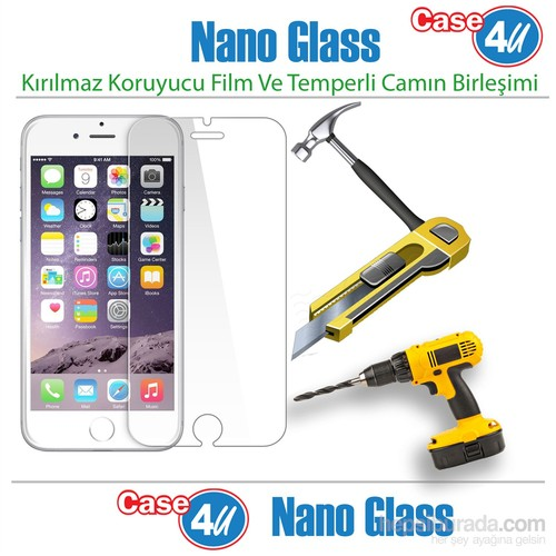 Case 4U Apple İphone 6 Plus Nano Glass Ekran Koruyucu