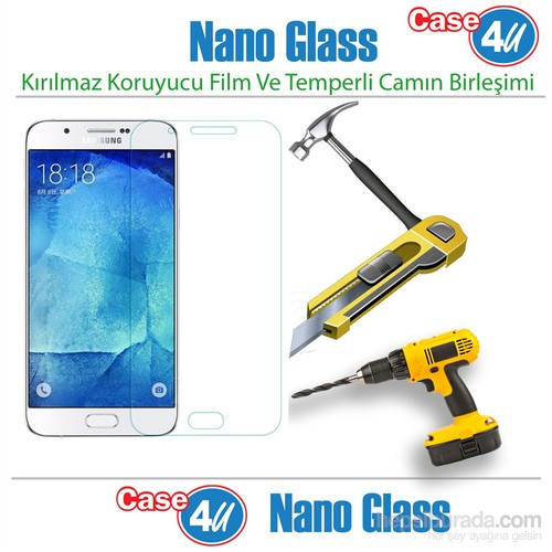 Case 4U Samsung Galaxy A7 Nano Glass Ekran Koruyucu