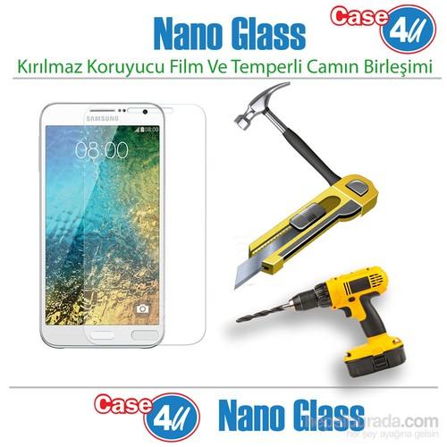 Case 4U Samsung Galaxy E5 Nano Glass Ekran Koruyucu