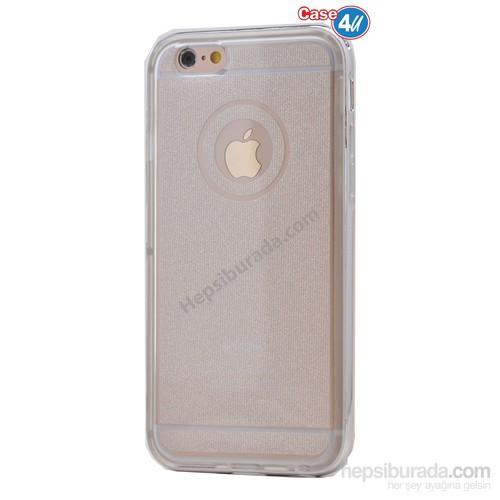 Case 4U Apple İphone 6S Plus Çerçeveli Silikon Kılıf Şeffaf