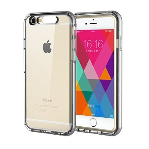CoverZone Apple İphone 6 Kılıf Rock Light Tube Case