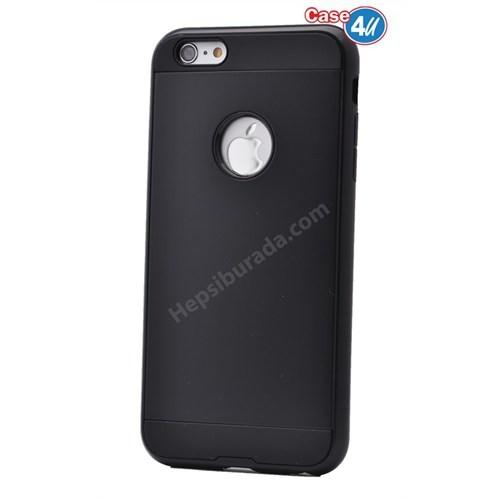 Case 4U Apple İphone 6S Korumalı Kapak Siyah