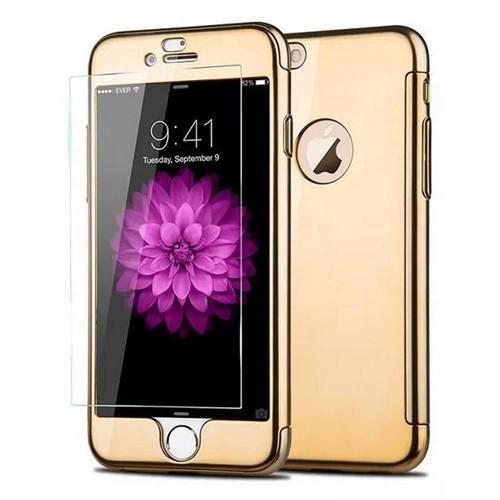 Joyroom iPhone 6 Plus-6S Plus Gold Kılıf