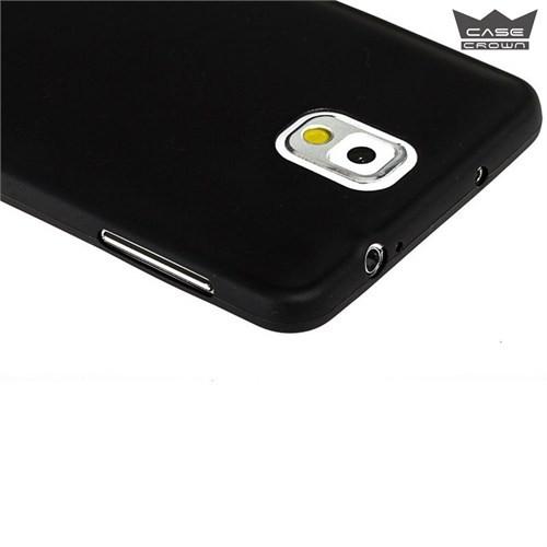 CaseCrown Samsung Galaxy J5 Ultra İnce Silikon Kılıf Siyah