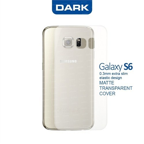Dark Samsung Galaxy S6 0,3mm Ultra İnce Mat Kılıf (DK-AC-CPSMS601)