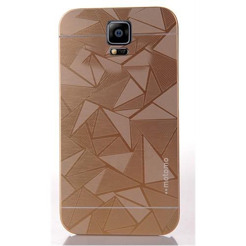 Coverzone Samsung Galaxy Note 4 Kılıf Sert Arka Kapak Prizma Desen
