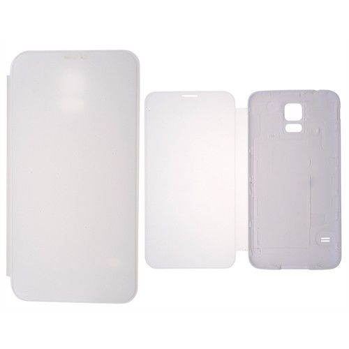 Ally Samsung Galaxy S5 Akıllı Şeffaf Kapak Flip Cover