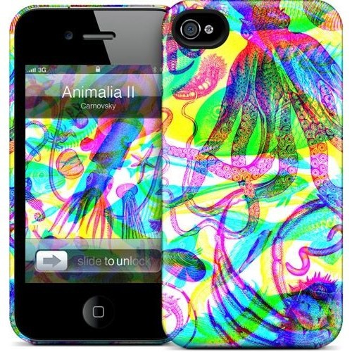 Gelaskins Apple iPhone 4 Hardcase Kılıf Animalia Iı