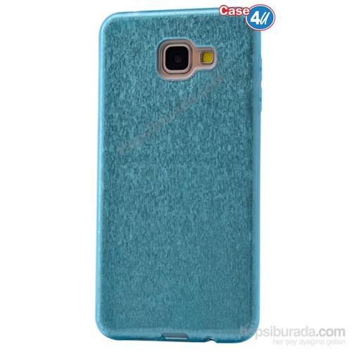 Case 4U Samsung A510 Galaxy A5 Shining Silikon Kılıf Mavi