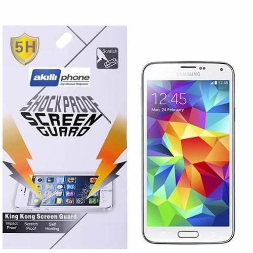 Ally Shockproof Galaxy S5 Mini G800f Darbe Emici Parlak Ekran Koruyucu Jelatin