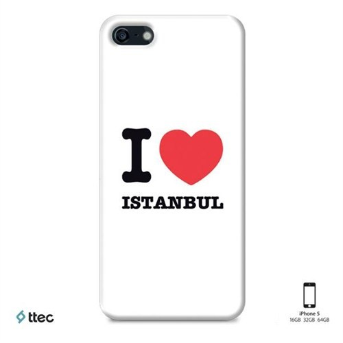 Ttec Artcase Koruma Paneli İphone 5 Love