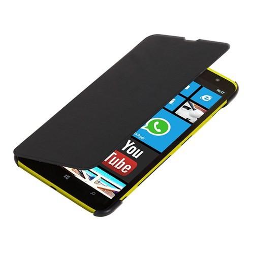 Microsonic Ultra Thin Kapaklı Nokia Lumia 1320 Kılıf Siyah
