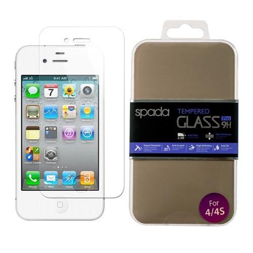 Spada İphone 4 4S Glass Ekran Koruyucu