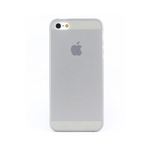 Lopard Apple İphone 5 5S Kılıf 0.2Mm Şeffaf Silikon Arka Kapak