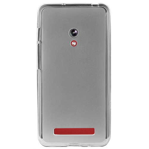 Coverzone Asus Zenfone 5 Lite Kılıf Silikon + Temperli Cam