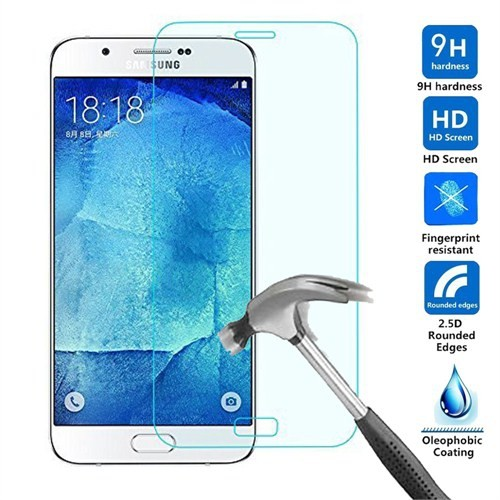 Case 4U Samsung Galaxy A8 Cam Ekran Koruyucu