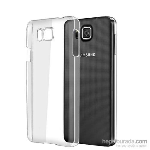 Case 4U Samsung Galaxy Alpha Ultra İnce Şeffaf Arka Kapak