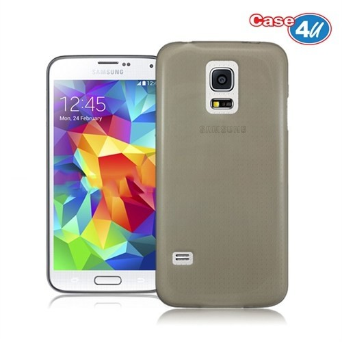Case 4U Samsung Galaxy S5 Mini Füme Kılıf