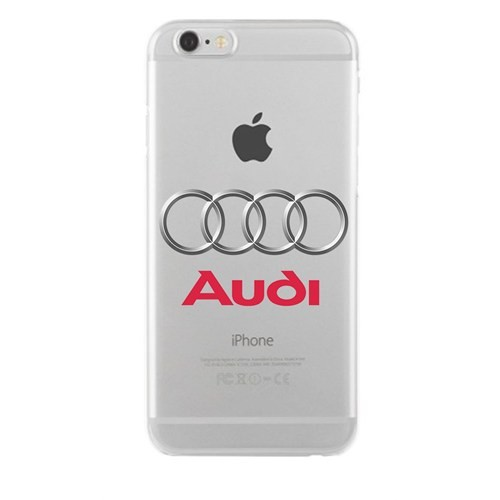 Remeto Samsung Galaxy J5 Audi Logo Transparan Silikon Resimli Kılıf
