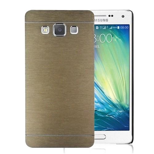 Microsonic Samsung Galaxy E5 Kılıf Hybrid Metal Gold